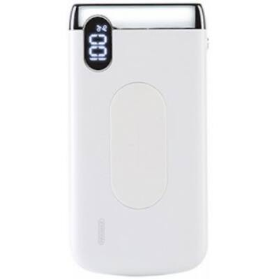 Joyroom D-M194 Elegance 10000 mAh Wireless Powerbank - Fehér