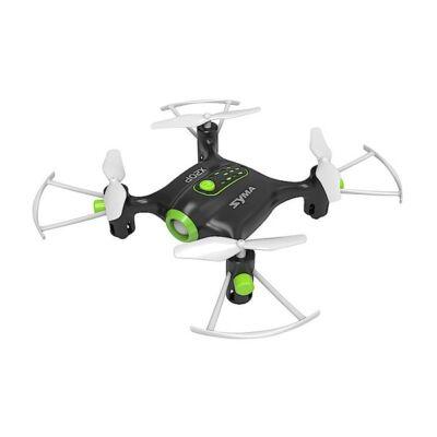 SYMA X20P drón quadcopter 10.5cm 2.4GHz (játék kategória) automata magasságtartással - zöld