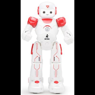 JJRC R12 CADY WISO RC Robot 27cm interaktív programozható intelligens vezérléssel (interaktív távirányítós játék) - piros