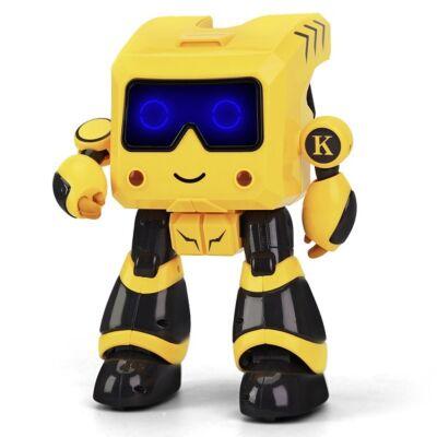 JJRC R17 távirányítós interaktív robot - sárga