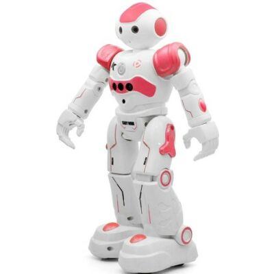 JJRC R2 távirányítós interaktív robot - pink