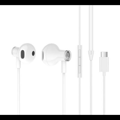 Xiaomi Mi Dual Driver Earphones fülhallgató (Type-C) - FEHÉR (XMMDDETCW)