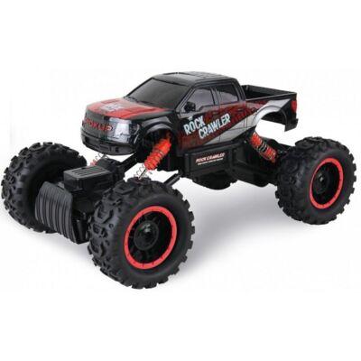 Rock Crawler HB-P1401 Off Road Buggy Pickup 4WD 15km/h sebességű 1:14 33cm RC távirányítós autó (15 km/h HB P1401 versenyautó) - fekete - BEMUTATÓ DARAB