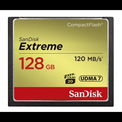 Sandisk cf extreme 128 GB memóriakártya 120mb/s SDCFXSB-128G-G46 (124095)