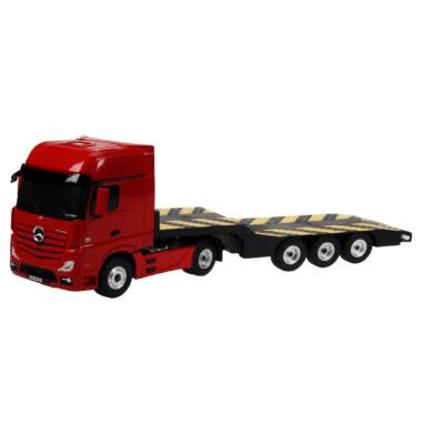Mercedes-Benz Actros távirányítós óriás vontató teherautó 1:24 50cm RC játék autó Rastar 74930 RTR modellautó - piros