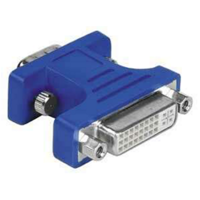 Hama dvi adapter 15pin - hdd dugó - dvi adapter aljzat átalakító (45074)