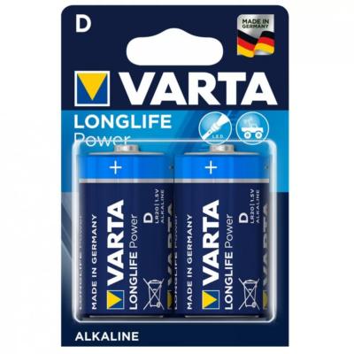 VARTA LONGLIFE Power LR20 D góliát elem (D, góliát, LR20, 1,5 V) - 2 db / csomag