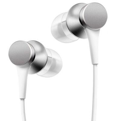 Xiaomi Mi In-Ear BASIC - vezetékes sztereó fülhallgató headset (HSEJ03JY) - ezüst (XMMIAHPBSCS)