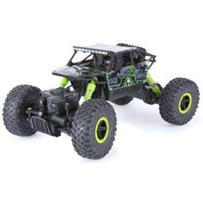 Rock Crawler HB-P1803 Buggy 4WD 10km/h sebességű 1:18 28cm RC távirányítós autó (Off Road 10 km/h Ni-Cd) - zöld - BEMUTATÓ DARAB