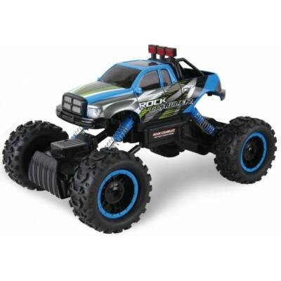 Rock Crawler HB-P1402 Off Road Buggy Dodge Ram 4WD 15km/h sebességű 1:14 33cm RC távirányítós autó (15 km/h HB P1402 versenyautó) - kék