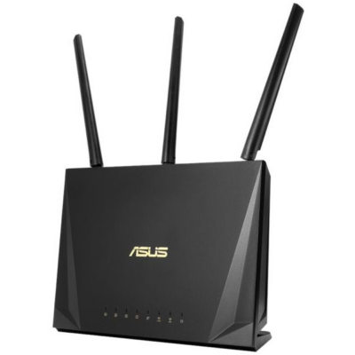 ASUS Wireless Router Dual Band AC1750 1xWAN(1000Mbps) + 4xLAN(1000Mbps) + 1xUSB, RT-AC65P (269261)