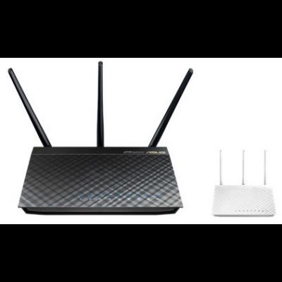 ASUS Wireless Router Dual Band AC1750 1xWAN(1000Mbps) + 4xLAN(1000Mbps) + 2xUSB, RT-AC66U B1 (180964)