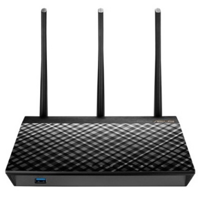 ASUS Wireless Router Dual Band AC1900 1xWAN(1000Mbps) + 4xLAN(1000Mbps) + 2xUSB x2, RT-AC67U 2 PACK (283566)
