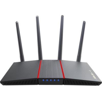 ASUS Wireless Router Dual Band AX1800 1xWAN(1000Mbps) + 4xLAN(1000Mbps), RT-AX55 (287032)