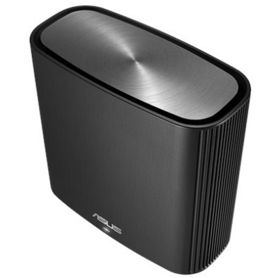 ASUS Wireless Router Tri Band AC3000 1xWAN(1000Mbps) + 3xLAN(1000Mbps) + 1xUSB, ZENWIFI AC (CT8) BLACK (283559)