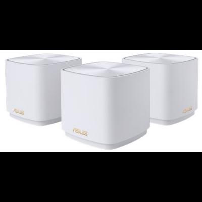 ASUS Wireless ZenWifi Mini Mesh Networking system AX1800, XD4 3-PK WHITE (287037)