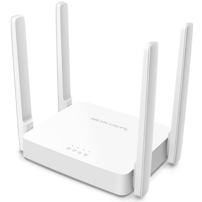 MERCUSYS Wireless Router Dual Band AC1200 1xWAN(100Mbps) + 2xLAN(100Mbps), AC10 (288452)