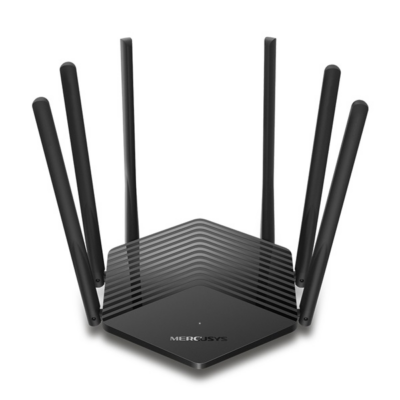 MERCUSYS Wireless Router Dual Band AC1900 1xWAN(1000Mbps) + 2xLAN(1000Mbps), MR50G (287307)