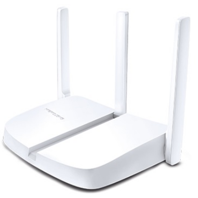 MERCUSYS Wireless Router N-es 300Mbps 1xWAN(100Mbps) + 3xLAN(100Mbps), MW305R (275822)