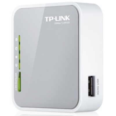 TP-LINK 3G/4G Modem + Wireless Router N-es 150Mbps 1xWAN/LAN(100Mbps) + 1xUSB, TL-MR3020 (138119)