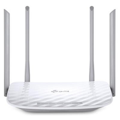 TP-LINK Wireless Router Dual Band AC1200 1xWAN(100Mbps) + 4xLAN(100Mbps), Archer C50 (222141)