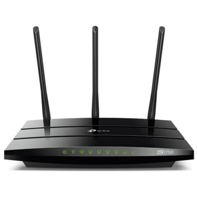 TP-LINK Wireless Router Dual Band AC1750 1xWAN(1000Mbps) + 4xLAN(1000Mbps) + 1xUSB, Archer C7 (157941)