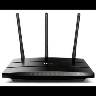 TP-LINK Wireless Router Dual Band AC1750 1xWAN(1000Mbps) + 4xLAN(1000Mbps) + 1xUSB, Archer C7 (157941)