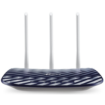 TP-LINK Wireless Router Dual Band AC750 1xWAN(100Mbps) + 4xLAN(100Mbps), Archer C20 (181555)