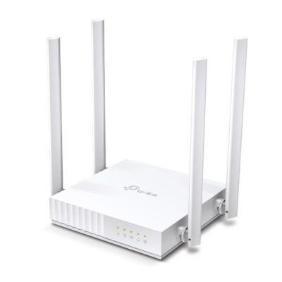 TP-LINK Wireless Router Dual Band AC750 1xWAN(100Mbps) + 4xLAN(100Mbps), Archer C24 (287377)