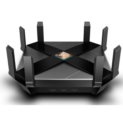 TP-LINK Wireless Router Dual Band AX6000 1xWAN(1000Mbps) + 8xLAN(1000Mbps) + 1xUSB 3.0 + 1xType C, Archer AX6000