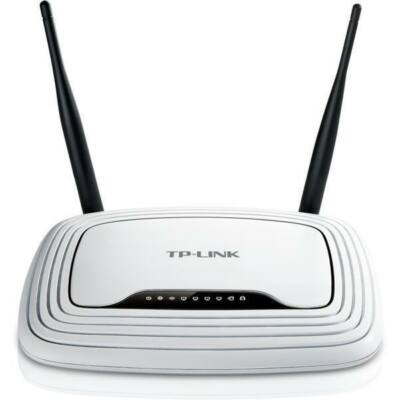 TP-LINK Wireless Router N-es 300Mbps 1xWAN(100Mbps) + 4xLAN(100Mbps), TL-WR841N (121311)