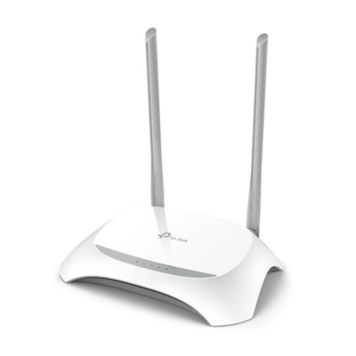 TP-LINK Wireless Router N-es 300Mbps 1xWAN(100Mbps) + 4xLAN(100Mbps), TL-WR850N (283434)