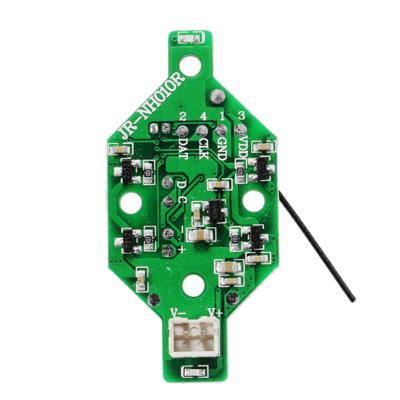 JJRC H36 RC Drón alaplap receiver
