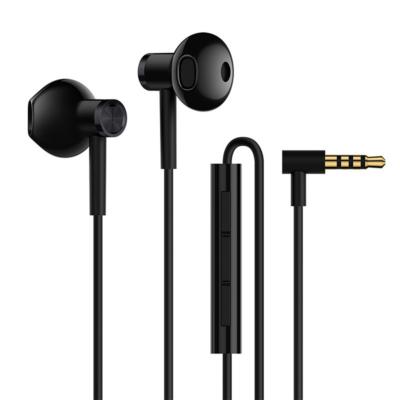 Mi Dual Driver Earphones fülhallgató  (3.5mm) - FEKETE (XMMDDE35MMB)