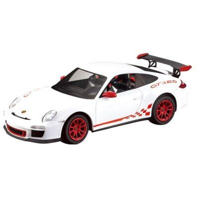 Porsche 911 GT3 RS 1:14 31,9cm távirányítós modell autó Rastar 42800 RTR modellautó - fehér
