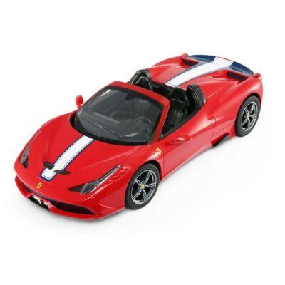 Ferrari 458 Speciale Aperta 1:14 32,7cm távirányítós modell autó Rastar 74500 RTR modellautó - piros