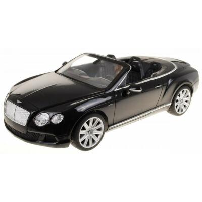 Bentley Continental Convertible 1:12 38,5cm távirányítós modell autó Rastar 49900 RTR modellautó  - fekete
