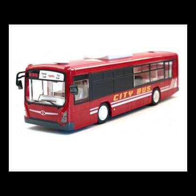 Távirányítós játék busz 33 cm x 8 cm x 8,8 cm Double Eagle E635-003-RED RTR EE Double E - piros