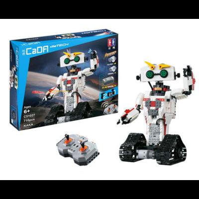 Double Eagle távirányítós építőkészlet játék szett RC 2in1 robot - skorpió (710 db, 28,1 cm 2.4GHz) EE Double E CaDa (C51027W)
