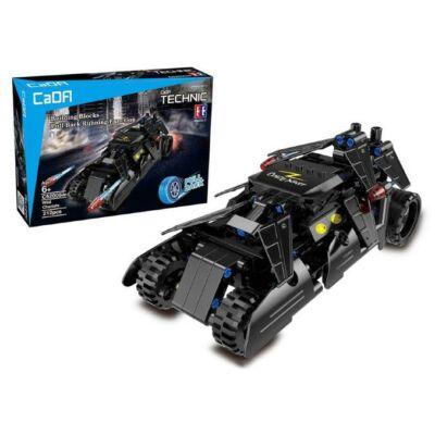 Double Eagle építőkészlet játék szett hátrahúzós wild chariot harci autó (212 db, 21.0 cm) fekete harci jármű EE Double E CaDa (C52005W)