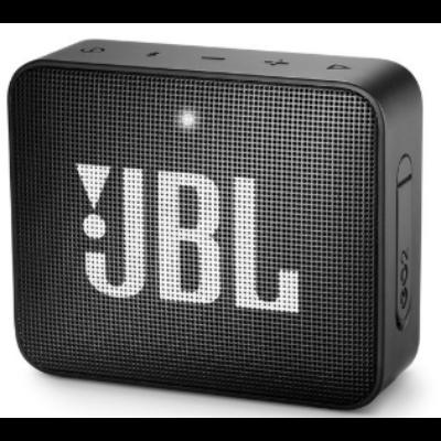 JBL Go 2 bluetooth hangszóró, vízhatlan (fekete), JBLGO2BLK, Portable Bluetooth speaker