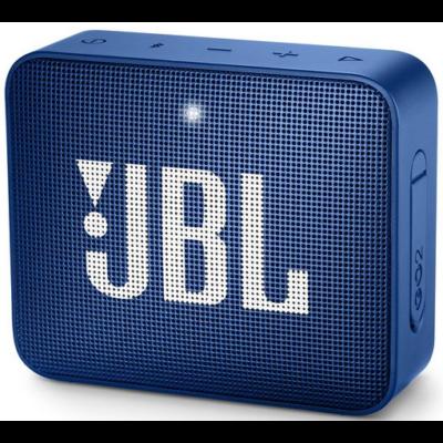 JBL Go 2 bluetooth hangszóró, vízhatlan (kék), JBLGO2BLU, Portable Bluetooth speaker (272163)