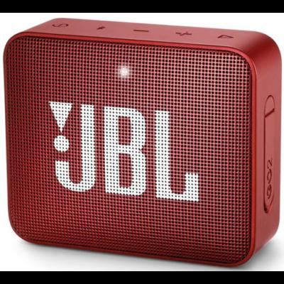 JBL Go 2 bluetooth hangszóró, vízhatlan (piros), JBLGO2RED, Portable Bluetooth speaker