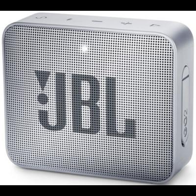 JBL Go 2 bluetooth hangszóró, vízhatlan (szürke), JBLGO2GRY, Portable Bluetooth speaker (272162)