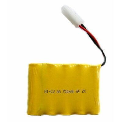 NQD Rock Crawler 1:12 RC távirányítós autó akku akkumulátor (6V 700 mAh Ni-Cd)