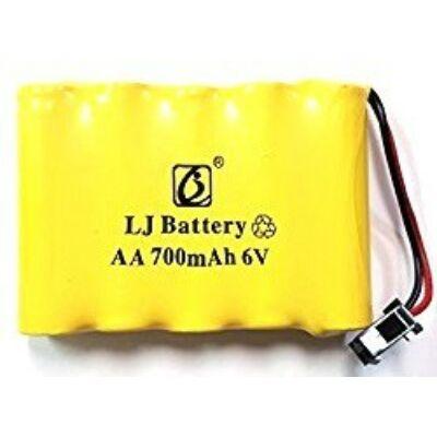 HB Rock Crawler 1:14 P1401 P1402 P1403 P1404 RC távirányítós autó akku akkumulátor (6V 700 mAh Ni-Cd)