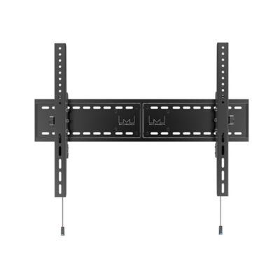 """Multibrackets fali rögzítő univerzális HD MAX, dönthető 63-110"""", fekete"""