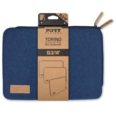"Port Designs notebook sleeve, Torino, 13,3"" - kék"
