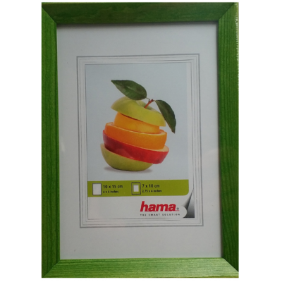 "Hama fa keret ""EVA"" zöld 10x15 cm (172650)"