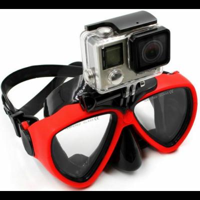 SJCAM / GoPro speciális vízi búvár szemüveg maszk akciókamerához sportkamerákhoz - piros SJ/GP-DM1